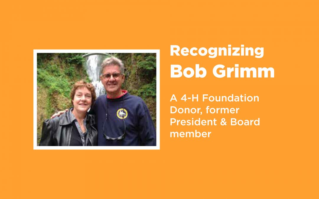 Donor Feature   Bob and Cindy Grimm