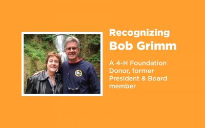Donor Feature | Bob and Cindy Grimm