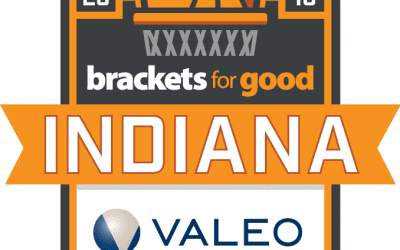 We've been selected to participate in Brackets For Good 2018!